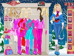 Barbie Winter game
