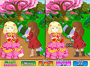 Jugar Magic fairy tale book difference Juego