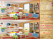 Play Room spot difference Game