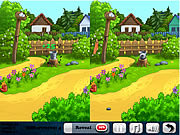 Play Flower world 5 differences Game