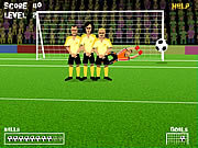 Play Free kick game Game