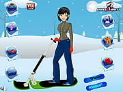 Play Ski girl dress up Game