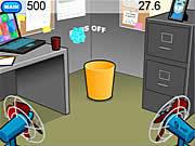 Office Hoops game
