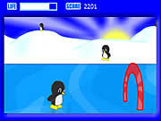Play Penguin skate Game