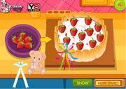 Chocolate Strawberry Birthday Cake game