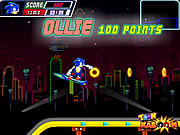 Play Sonic skate glider Game