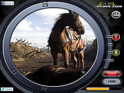 Play War horse - find the numbers Game