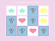6 shape memory game Gioco