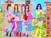 Play Pink candy girl Game