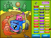 Kids coloring car s