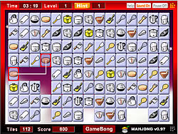 KitchenMahjong game