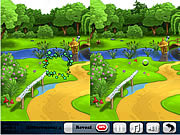Play Paradise of flowers 5 differences Game
