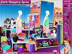 Paris Shopping Spree game
