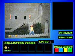 The Lego Treasure Hunt game