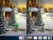 Play Winter forest 5 difference Game
