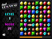 Play Doof gem swap Game