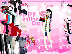 Valentine Dress game