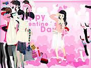 Valentine Dress لعبة