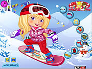 Snowboarder Girl Dress Up game
