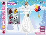 Jugar Winter wedding dresses Juego