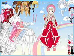 Dress-up Doll 3 game