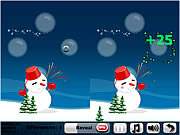 Play Snowballs 5 differences Game