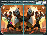 Play Kung fu panda 2 - spot the difference Game