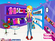 Play Shop for winter dress up Game