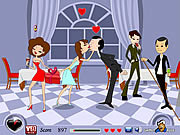 Play Love affair kiss Game