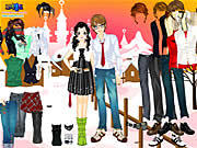 Play Dress up sweet couple Game