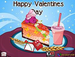 Spielen Sie das Gratis-Spiel  Valentines Cheesecake Decor