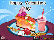 Play Valentines cheesecake decor Game