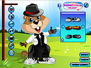 Play Cute groundhog Game
