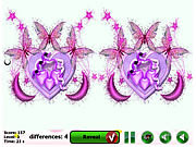 Play Flaming heart Game