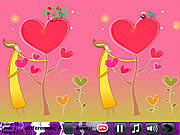 Play Hot love 5 differences Game