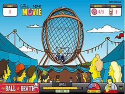 Simpsons The Ball of Death oyunu