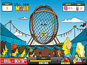 Play Simpsons the ball of death Game