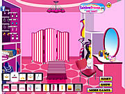 Play My girly chic dressing room Game