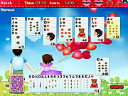 Play Golf solitaire - first love Game Online