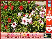 Valentine's Day  Hidden Flowers game