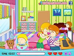 Играть бесплатно в игру Babysitter's Love Story