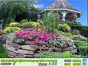 Play Hidden alphabet flower garden Game