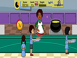 School Canteen game