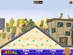 jeu Spongebob BMX