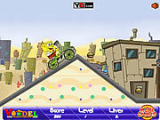 Play Spongebob bmx Game