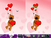 Play Vanilla love 5 differences Game