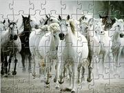 White Horse Jigsaw game