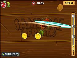 Samurai Fruits game