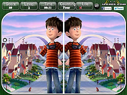 Jogar jogo grátis The Lorax - Spot the Difference
