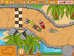 Prehistory Grand Prix game